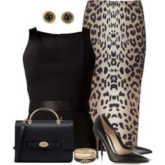 Elegant, created by daiscat on Polyvore