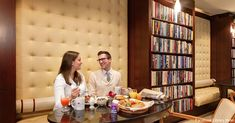 Love Relaxing And Reading? Plan A Stay At The Library Hotel - The hotel's lobby, common rooms, suites and guest rooms hold a collection of more than 6,000 books!
