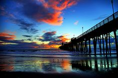 Sunset at the Oceanside Pier - February 8, 2013 by Rich Cruse, via 500px