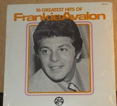 Frankie Avalon 16 Greatest Hits Sealed Vinyl Pop by RASVINYL