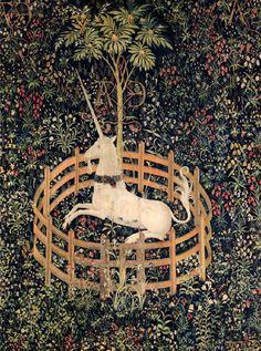 Пленение единорога. 1495-1505