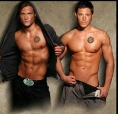 jensen ackles and jared padalecki... inlove #mancandymonday OH HOT DAMN! http://whytaboo.com.au/