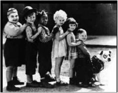 Little Rascals - my grandmother knew the actors as a child. I can't quite remember the circumstances of how she knew them.
