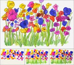 After reading a kids book about Paris, your kids can pretend they're in Paris painting outside. Try a trip to the local park and take along this know how: Art Projects for Kids: Wet-on-Wet Watercolor Flowers Spring Art Projects, School Art Projects, Auction Projects, Garden Projects, Kids Watercolor, Watercolor Flowers, Paint Flowers, Watercolor Drawing, Drawing Art