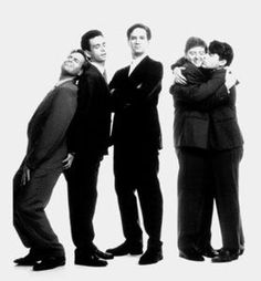 The Kids in the Hall: Scott Thompson, Kevin McDonald, Mark McKinney, Dave Foley, Bruce McCulloch.