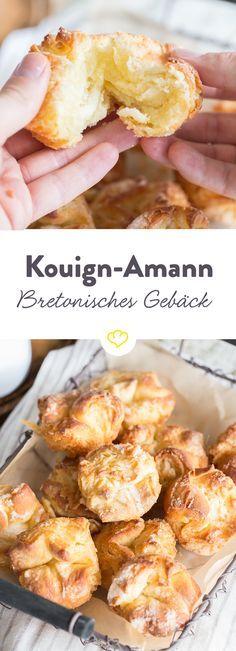 Kouign-Amann, das klingt so Märchenhaft aber zum Glück gibt es diese kleinen Butterkuchen mit karamellisierter Kruste wirklich!