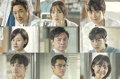Staff of Doldam hospital in Romantic Doctor Teacher Kim Season 2 Choi Jin Ho, Seo Woo, Science Fiction, Ahn Hyo Seop, Romantic Doctor, Drama School, Lee Sung Kyung, Romance, Drama Korea