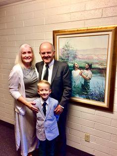 Hudson's baptism 2018