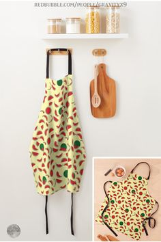 * Watermelon Wedge and Slices Apron by #Gravityx9 at Redbubble * Durable neck band and extra-long black ties that wrap around to tie in front * This design is available on coffee mugs, drink coasters, home decor and more. * Fun in the Kitchen * cooking accessories * kitchen accessories * cooking supplies * kitchen supplies * cooking class supplies * sous chef uniform * gift for chef * kitchen gifts * cooking class * #apronaddiction #apron #kitchen #cooking #inthekitchen #watermelon  0720