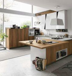 cucina Stosa Cucine Infinity composizione tipo 02 | Kitchen ...