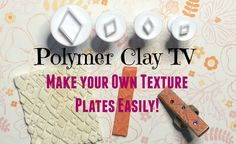 http://polymerclaytv.com Check out how easy it is to make your own texture plates, and then make a piece of pretty art jewelry- a boho ring! Get the mini cut...