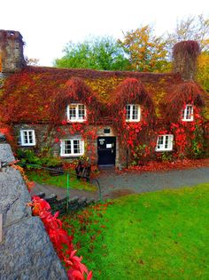 Tu Hwnt i'r Bont tearooms on the banks of the River Conwy Wales, UK.