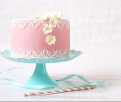 PINK BABY SHOWER CAKE SWEETNESS