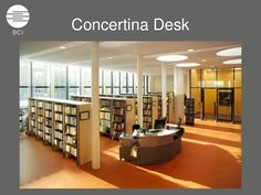 high school library circulation desk - Google Search