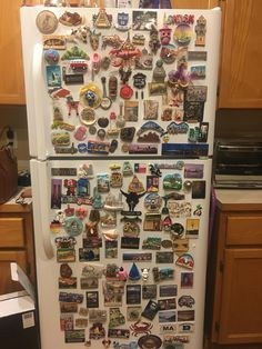 My family lives all over the US and Mexico but im glad we get to share our travel magnets from all over the world!