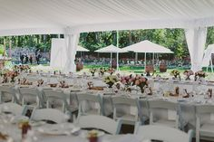 Umbrellas are such a beautiful extension to a marquee, create an outdoor area for your guests by placing them out with a wine barrel or table.