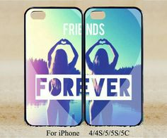 Cell Phone Cases - 2016 BFF Girl Friends Forever Hard Phone Case Cover for iPhone Samsung Model Best Friend Cases, Bff Cases, Friends Phone Case, Best Friends, True Friends, Hard Phone Cases, Cute Phone Cases, Iphone Phone Cases, Iphone 5s