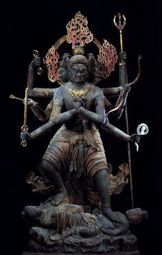 Hindu statue of Buddhist deity
