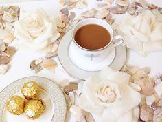 Petals and Joe. Enjoy the finer things. coffee, flowers