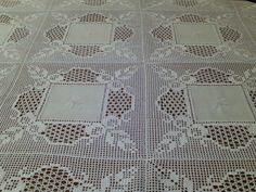 This post was discovered by Lo Crochet Lace Edging, Crochet Fabric, Crochet Tablecloth, Cotton Crochet, Crochet Doilies, Knit Crochet, 5 Diy Crafts, Diy Crafts Crochet, Doily Patterns