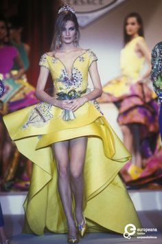 Gianni Versace, Spring-Summer 1991, Couture on www.europeanafashion.eu