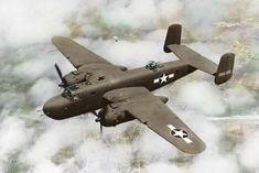 """B 25 Mitchel    I """"hopped a flight"""" in one of these from what was then called Bolling Air Force Base in Washington, D C to an Air Base near Montgomery, Ala. to come home   to get married"""
