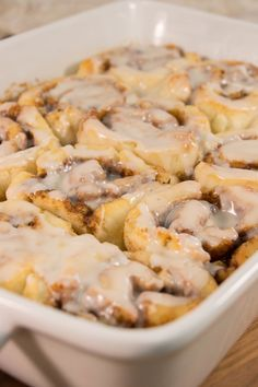 Easy Bisquick Cinnamon Rolls | TheBestDessertRecipes.com