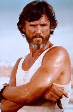 "Kris Kristofferson, Ali MacGraw in ""Convoy"" (1978). Director: Sam Peckinpah."
