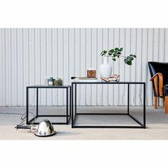 Domo Square sohvapöytä M, musta – Domo – Osta kalusteita verkossa osoitteessa Room21.fi