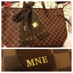 Customized Louis Vuitton Neverfull Love mine!!!!!