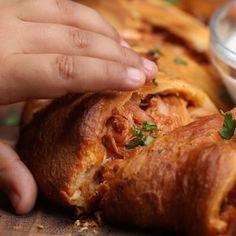 Easy BBQ Chicken Ring #TastyJunior