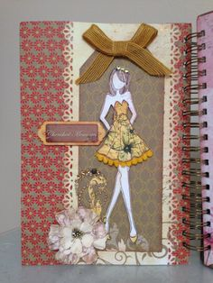My prima doll journal