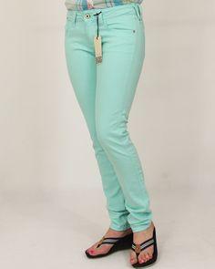 Spodnie Damskie HILFIGER DENIM sophie skinny - aruba blue