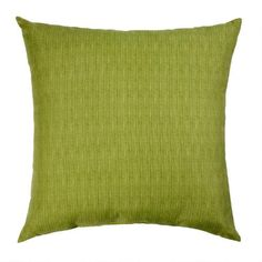 One of my favorite discoveries at ChristmasTreeShops.com: Solid Green Indoor/Outdoor Floor Cushion Pillow