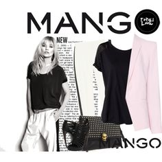 """Fashion in Motion with MANGO & Kate Moss"" by betikartika on Polyvore"
