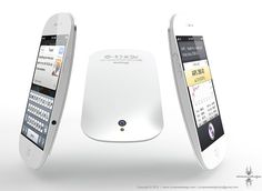 If the Iphone 5 looks like this, I would want one!