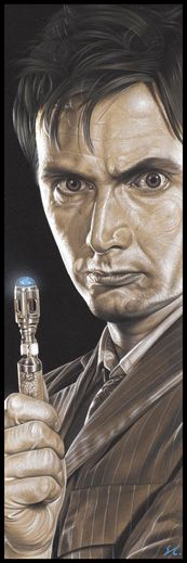Doctor Who - The Doctor by ~caldwellart on deviantART
