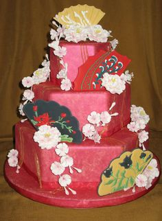 style cakes Asian