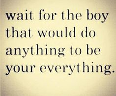 anything...