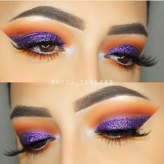 Purple and orange eyeshadow !  @sofia_torress @sofia_torress @sofia_torress ✨✨ #amazing #auroramakeup #anastasiabeverlyhills #beauty #beautiful  #eyes #eyemakeup #fashion  #girls #instamood #instalove  #lips #makeup #maquiagem #mua #maquillage #maccosmetics #hudabeauty #motivecosmetics  #pretty #stunning #instamakeup  #universodamaquiagem #universodamaquiagem_oficial #vegas_nay #makeupaddict #wedding #universodamaquiagembrasil