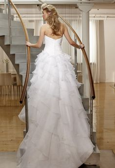 Strapless Ballgown Wedding Dress from Camille La Vie and Group USA