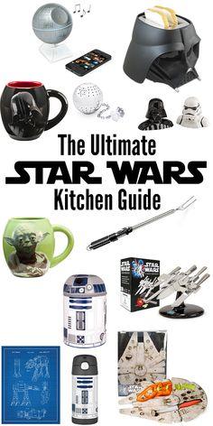 The Ultimate Star Wars Kitchen Guide #StarWars #TheForceAwakens