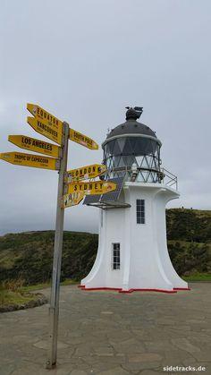 Cape Reinga, nordwestlichster Punkt Neuseelands im Juli 2016.