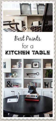 The factor that makes painting a kitchen table different than any other type of furniture is the fact that it is going have a lot of wear and tear on the surface.   View the slideshow below to read...