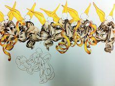 Annunciation, sketch 004