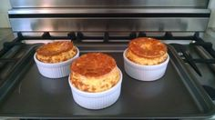 No Brainer Cheese and Egg Souffle