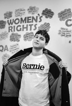 "vampire-ezra: "" Ezra for Bernie Sanders 2016 ( "" Vampire Weekend, Much Music, Radio Personality, Alternative Music, The Clash, Indie Movies, My Soulmate, Film Quotes, Music"