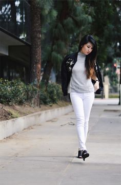 What's more perfect than a pair of white denim jeans for your spring wardrobe? Well, how about a personalized style service by Stitch Fix? B...