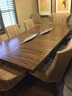 Gentil Table Made From Zebra Wood And Galvanized Piping Table By My Husband | Pipe  Tables | Pinterest | Galvanized Pipe, Pipe Table And Pipes