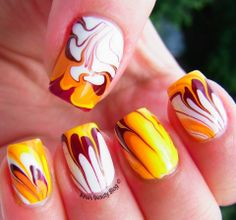 Flames on my nails :) http://ana-s-beautyblog.blogspot.ro/2014/06/the-alphabet-nail-art-challenge-f-for.html